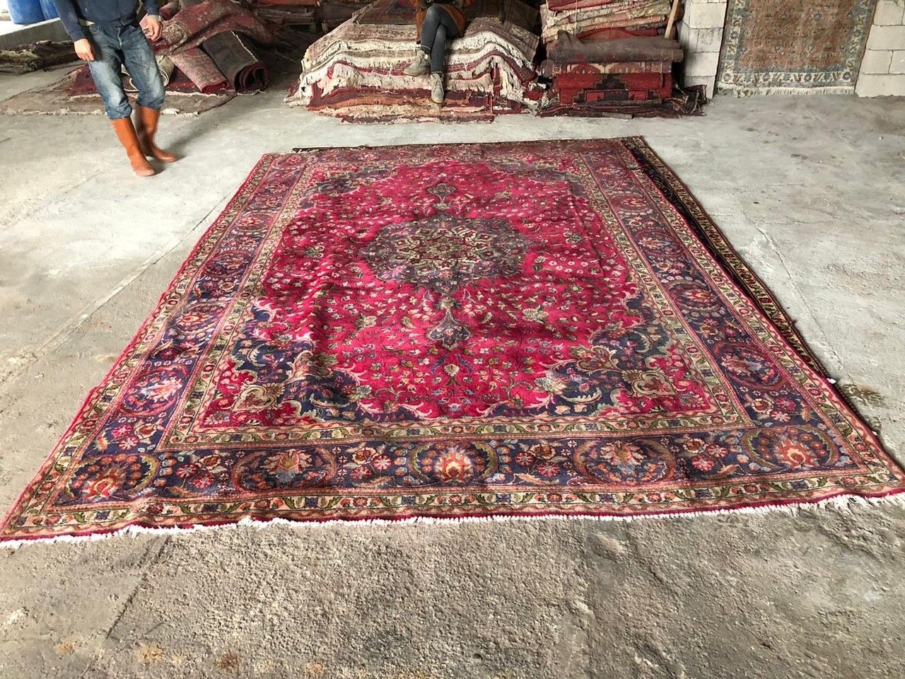 perzisch vloerkleed 49802 345cm x 234cm