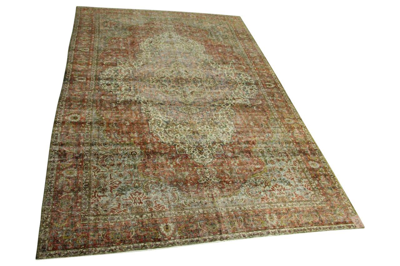 Bakhtiyari vloerkleed 455cm x 300cm 90-100 jaar oud nr8282