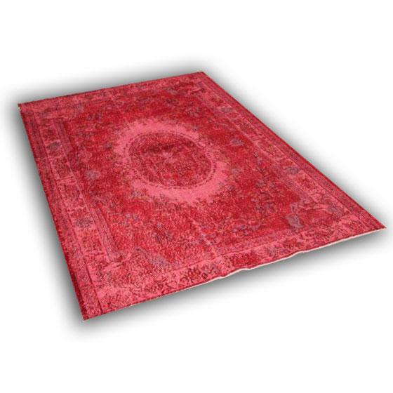 Rood vloerkleed 228 (288cm x 181cm) VERKOCHT