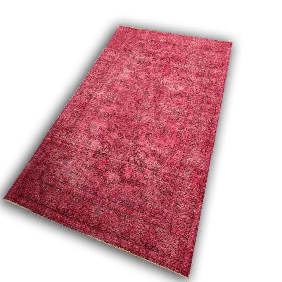 Roze vloerkleed 30 (3.05cm x 1.95cm)