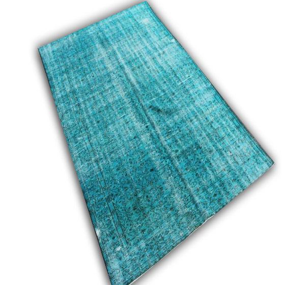 Blauw tapijt 9842 (265cm x 170cm)