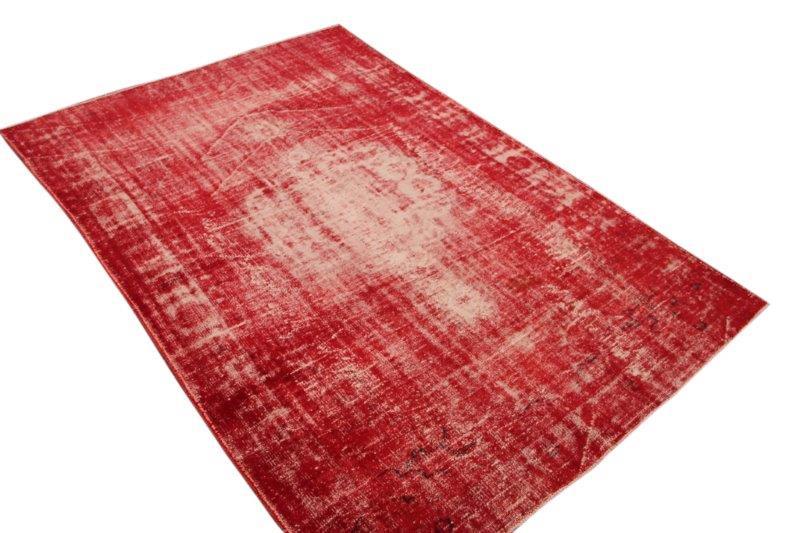 Vintage vloerkleed, rood, 287cm x 190cm