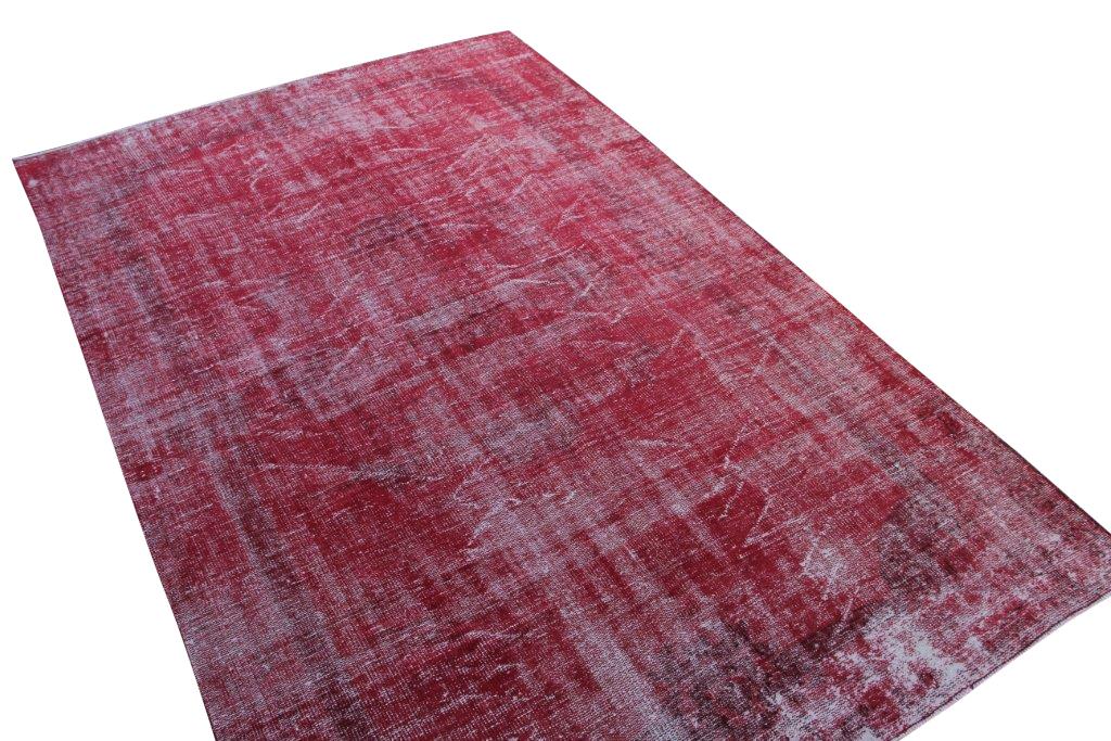 Rood vintage vloerkleed nr 761 (312cm x 201cm)