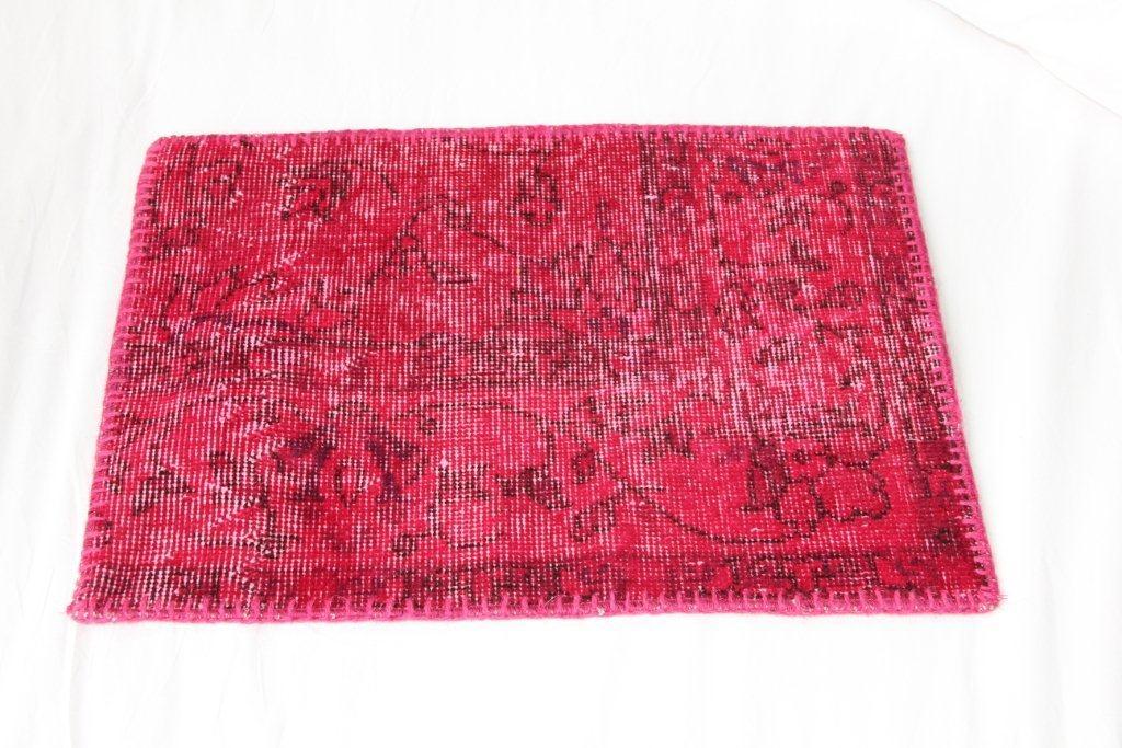 Roze vintage kussen EL300 (60cm x 40cm)
