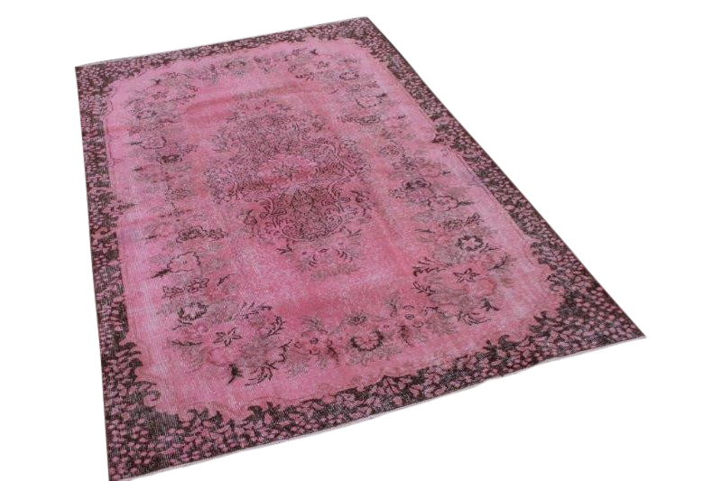 Roze vintage tapijt 271cm x 170cm  (nr1199b)