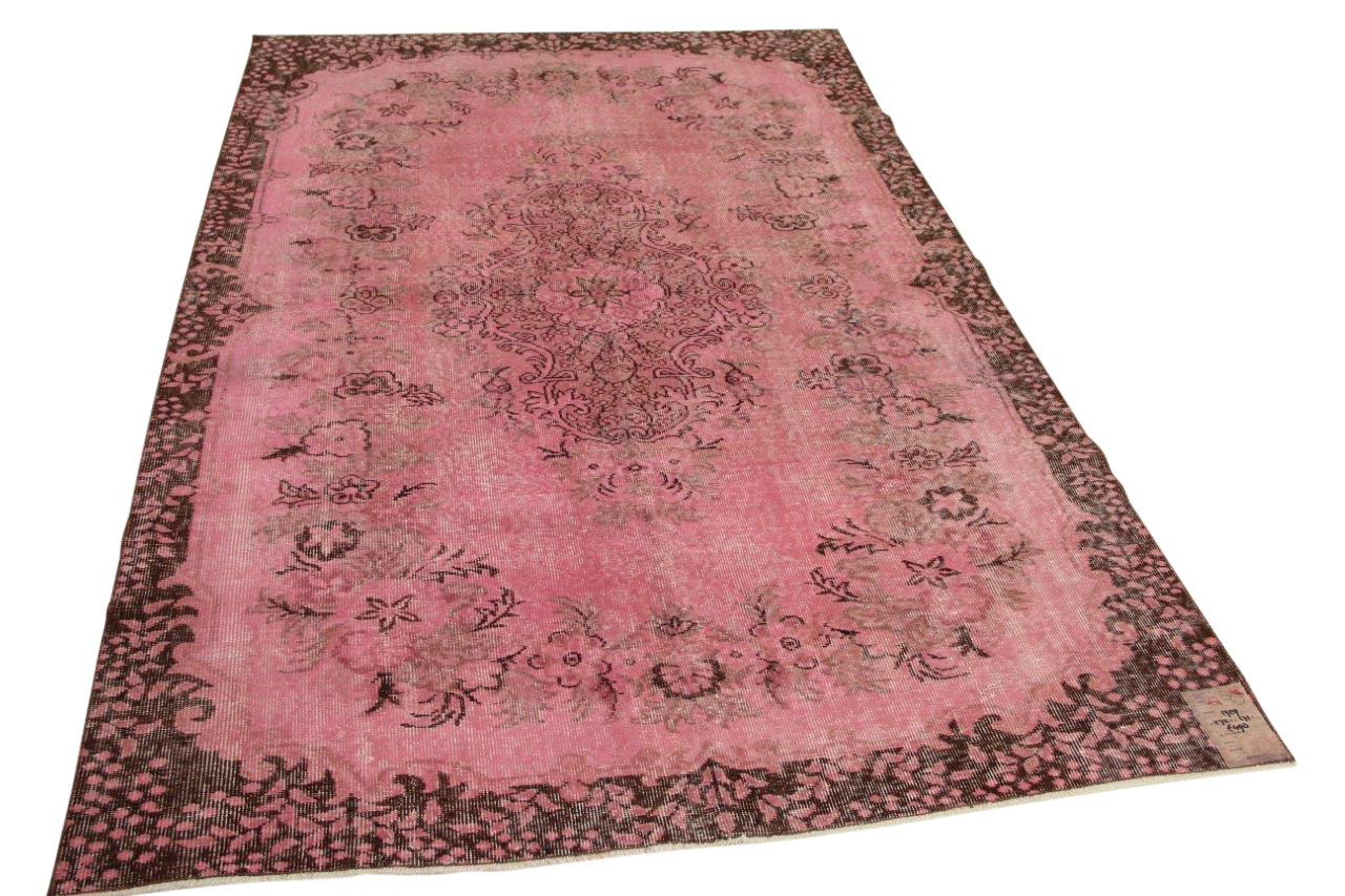 Roze vloerkleed 272cm x 171cm nr1729