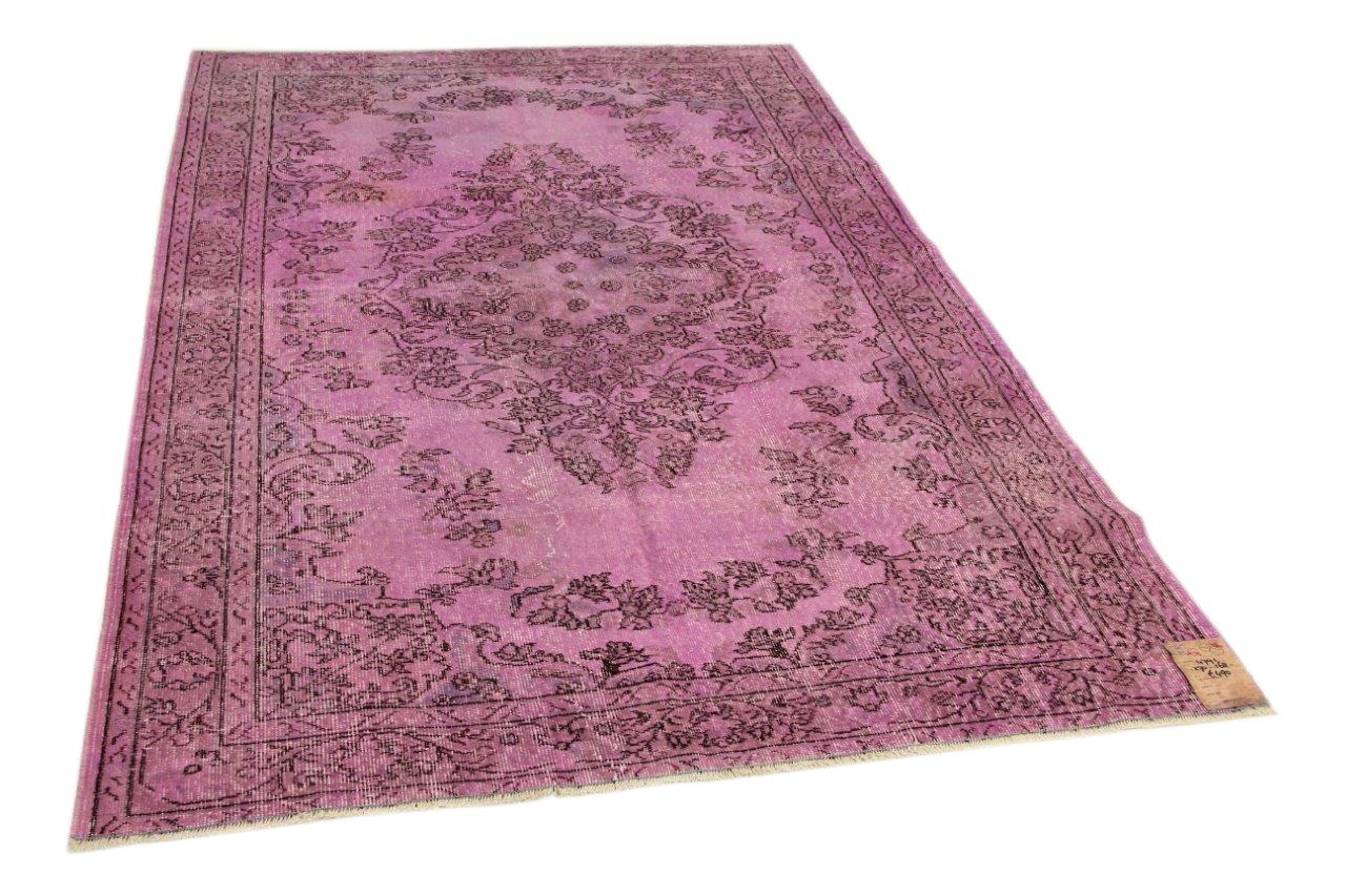 Roze vloerkleed 270cm x168cm nr4791