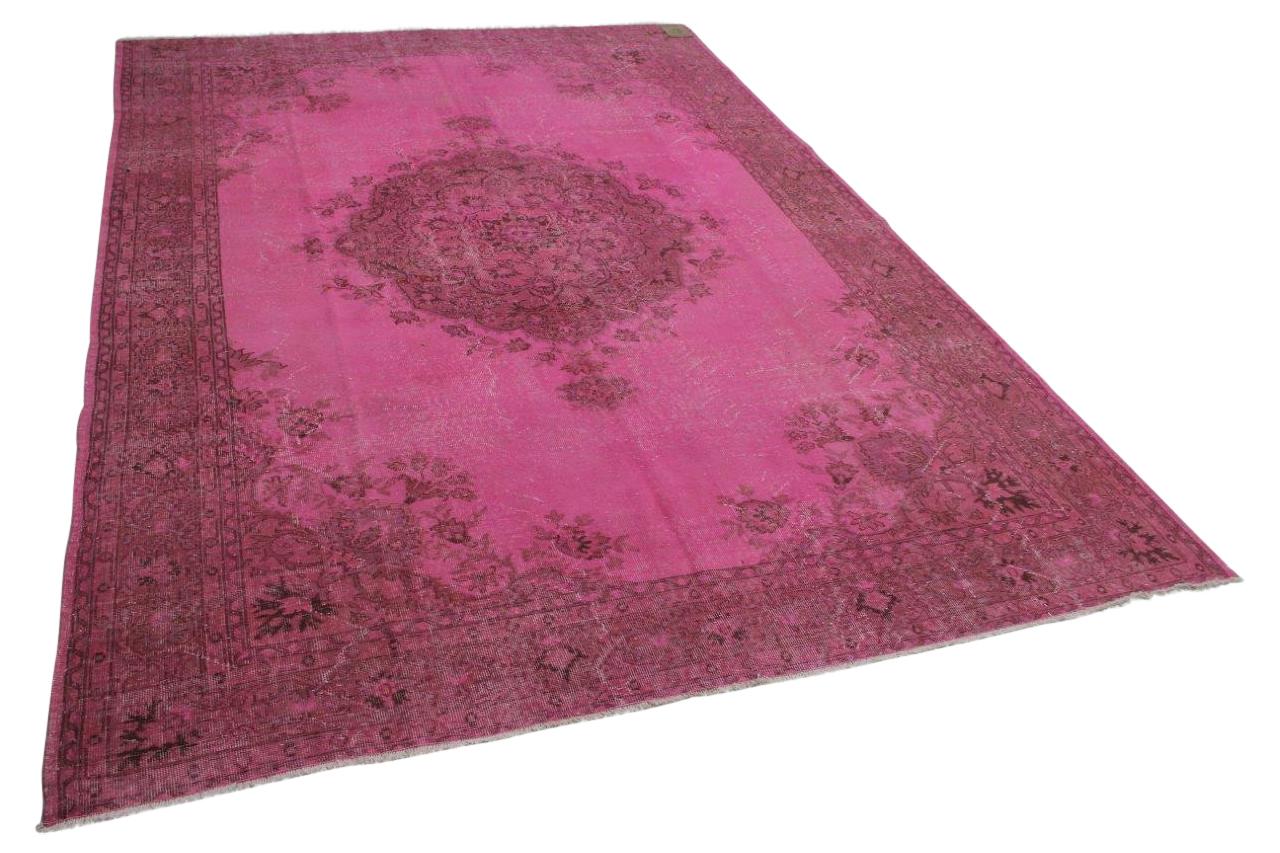 groot roze vloerkleed
