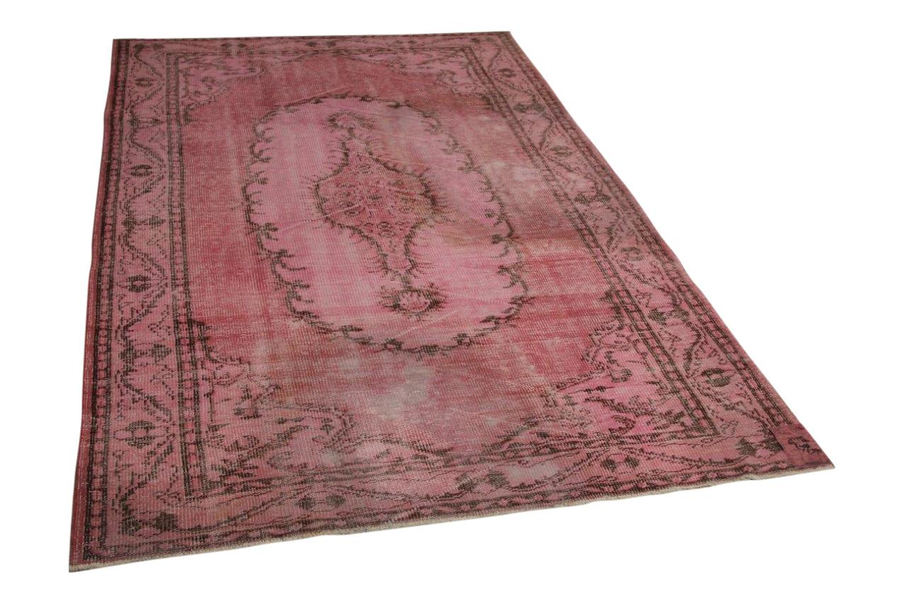 Roze vloerkleed 267cm x 180cm nr73775