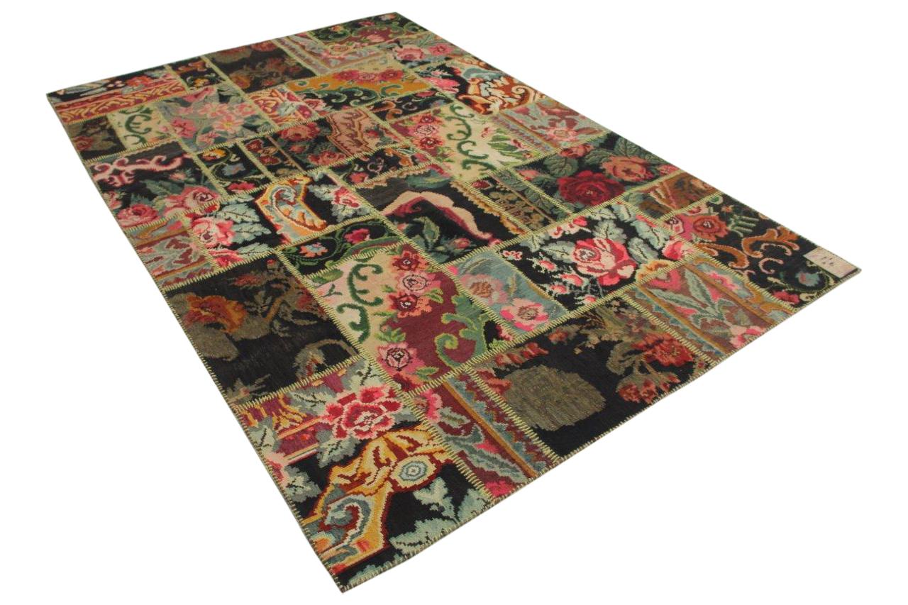 Rozenkelim patchwork 40296
