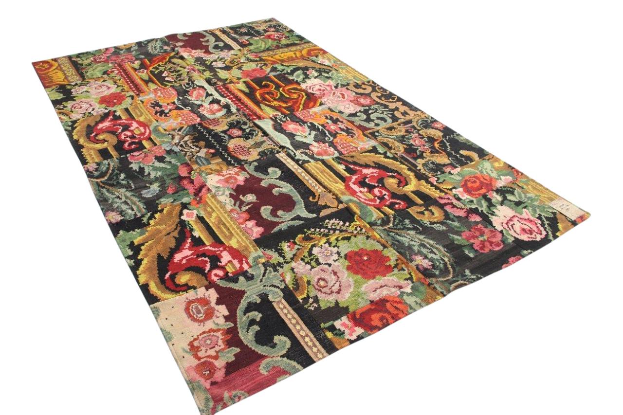 Rozenkelim patchwork 49308