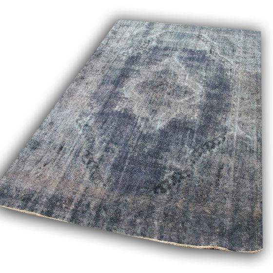 Zwart vintage vloerkleed SBR02 (337cm x 238cm)