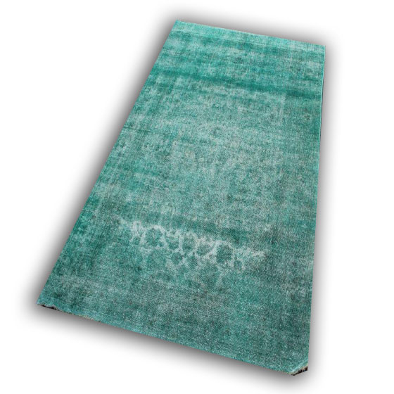 Groen vloerkleed SBR10 (298cm x 189cm)