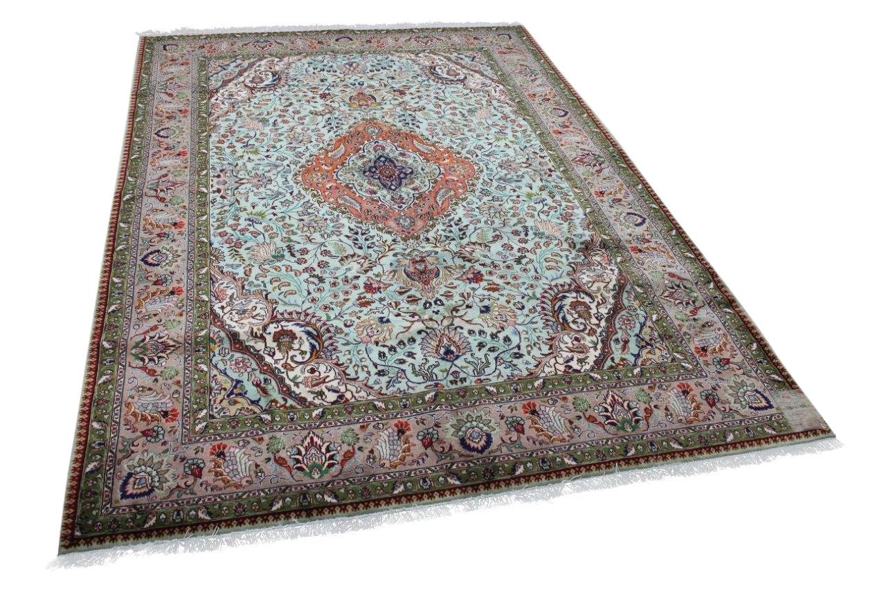 Vintage Tabriz vloerkleed uit 1970, nr.13401, 290cm x 200cm