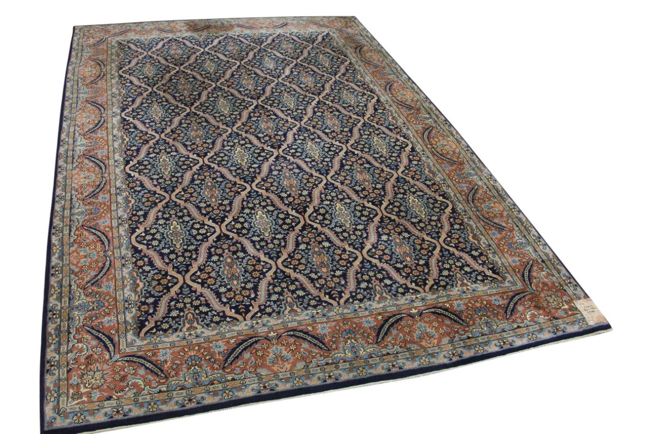Tabriz vintage vloerkleed uit 1970