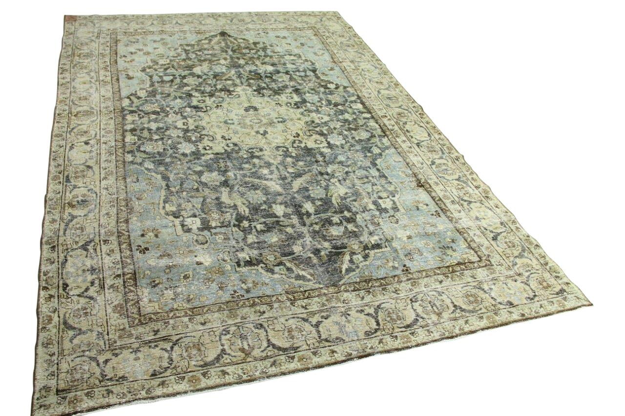 Tabriz vloerkleed 100 jaar oud 8580