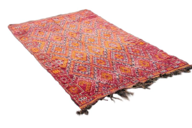 60 jaar oude Beni Mguild uit Marokko no 4167 (284cm x 172cm)