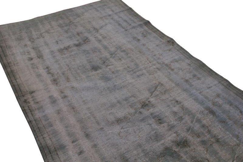 Vintage vloerkleed, grijs, 257cm x 165cm