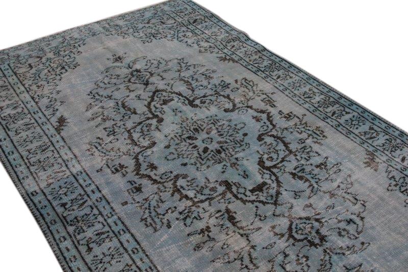 Vintage Teppiche, blau, 284cm x 169cm
