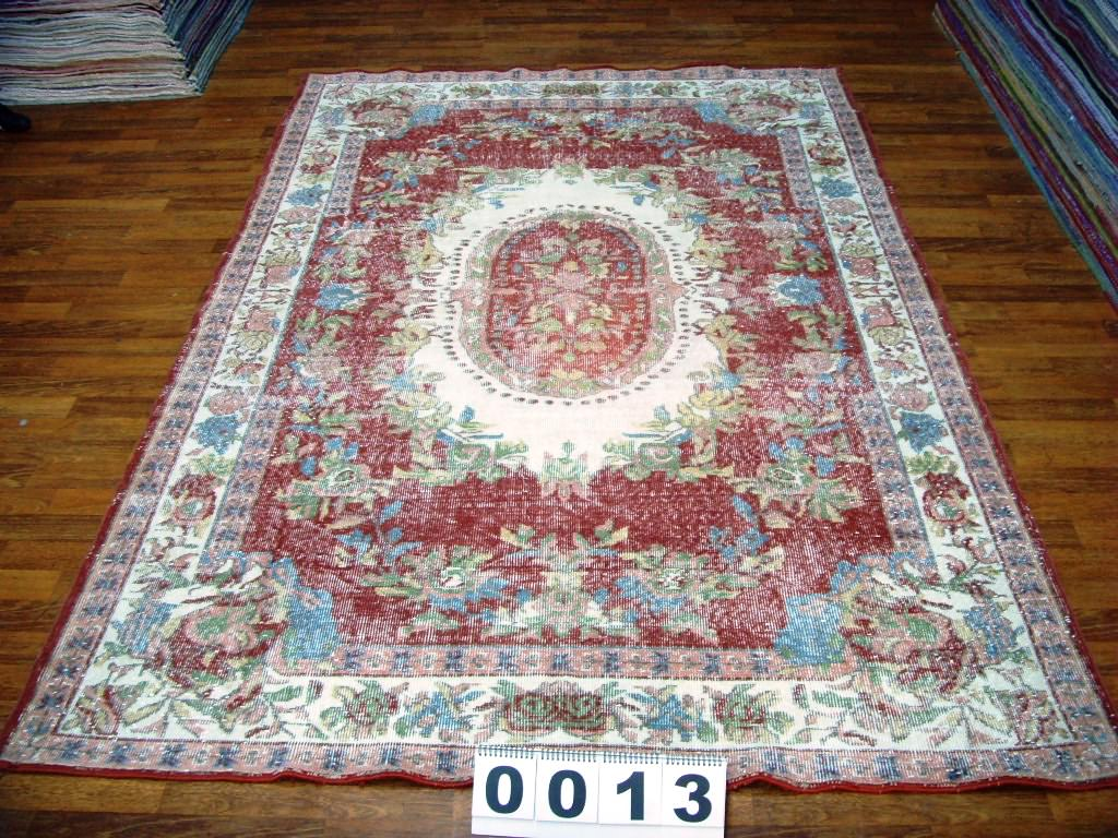 Vintage vloerkleed 297cm x 193cm  (nr0013) (dit kleed wordt rond 10 november in Nederland verwacht)