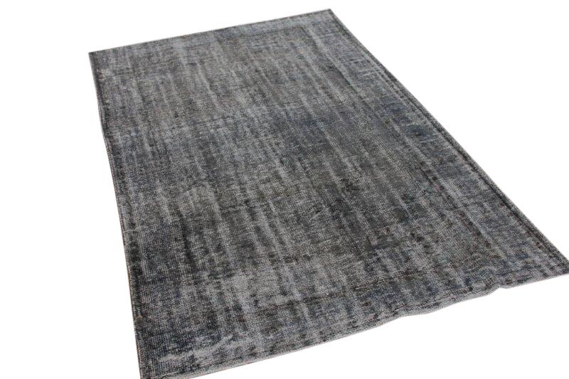Vintage vloerkleed, grijs, 275cm x 167cm