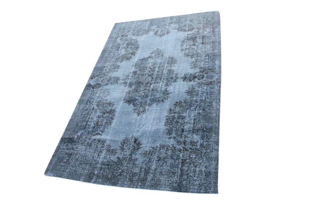 NIEUW INGEKOCHT  muisgrijs vintage vloerkleed  uit Turkije 256cm x 160cm, no 4604