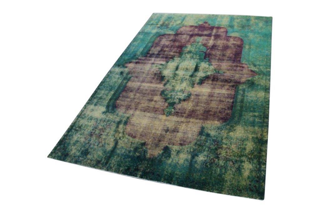 Geschoren vintage vloerkleed nr 50701 (296cm x 194cm) Gratis bezorging, niet tevreden is geld terug!