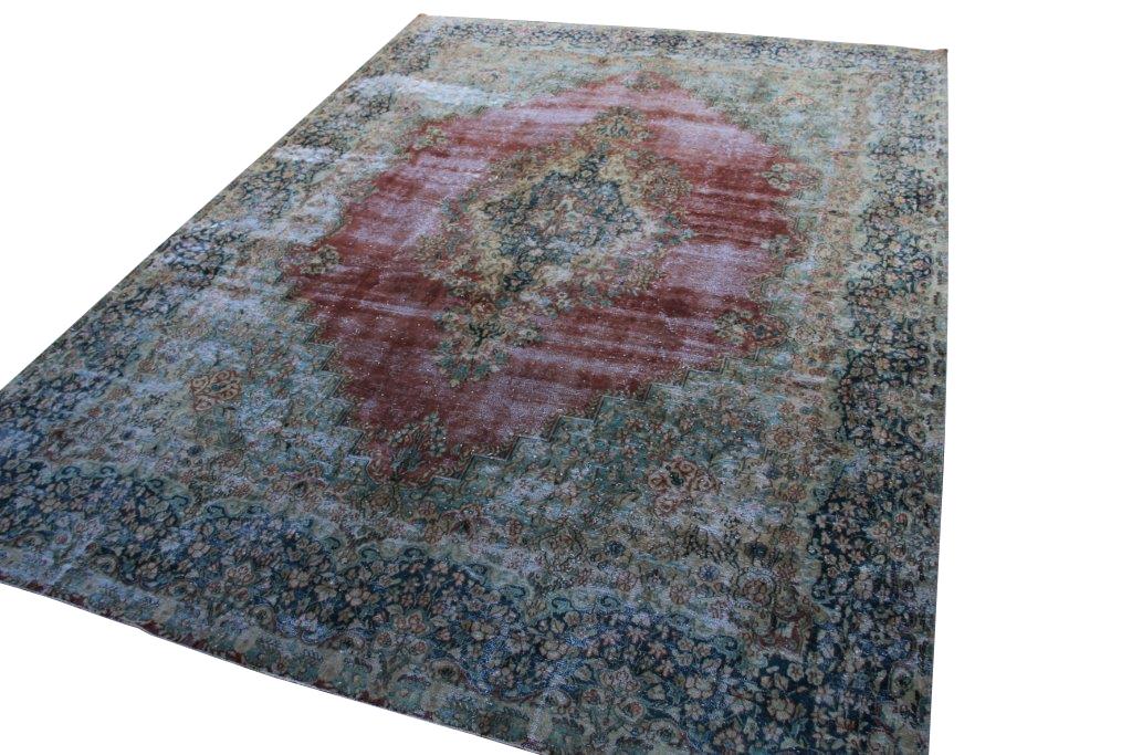 Geschoren vintage vloerkleed nr 52259 (390cm x 290cm) Gratis bezorging, niet tevreden is geld terug!
