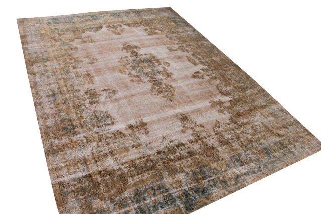 Vintage vloerkleed, roest, 385cm x 287cm