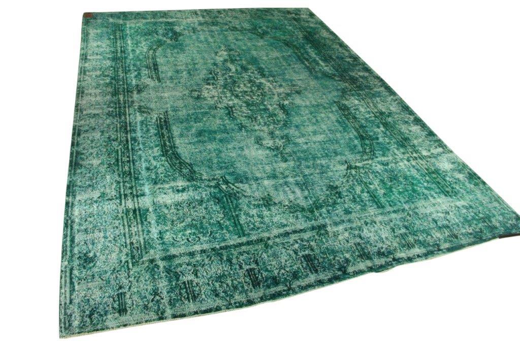 Zeegroen vloerkleed 405cm x 286cm nr55011