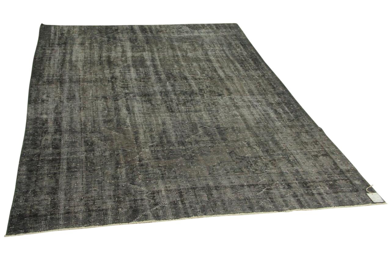 Vintage vloerkleed, grijs, 275cm x 190cm nr8254