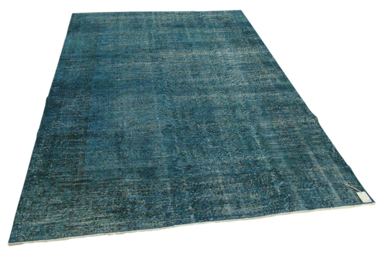 Vintage vloerkleed, blauw, 290cm x 200cm nr8334