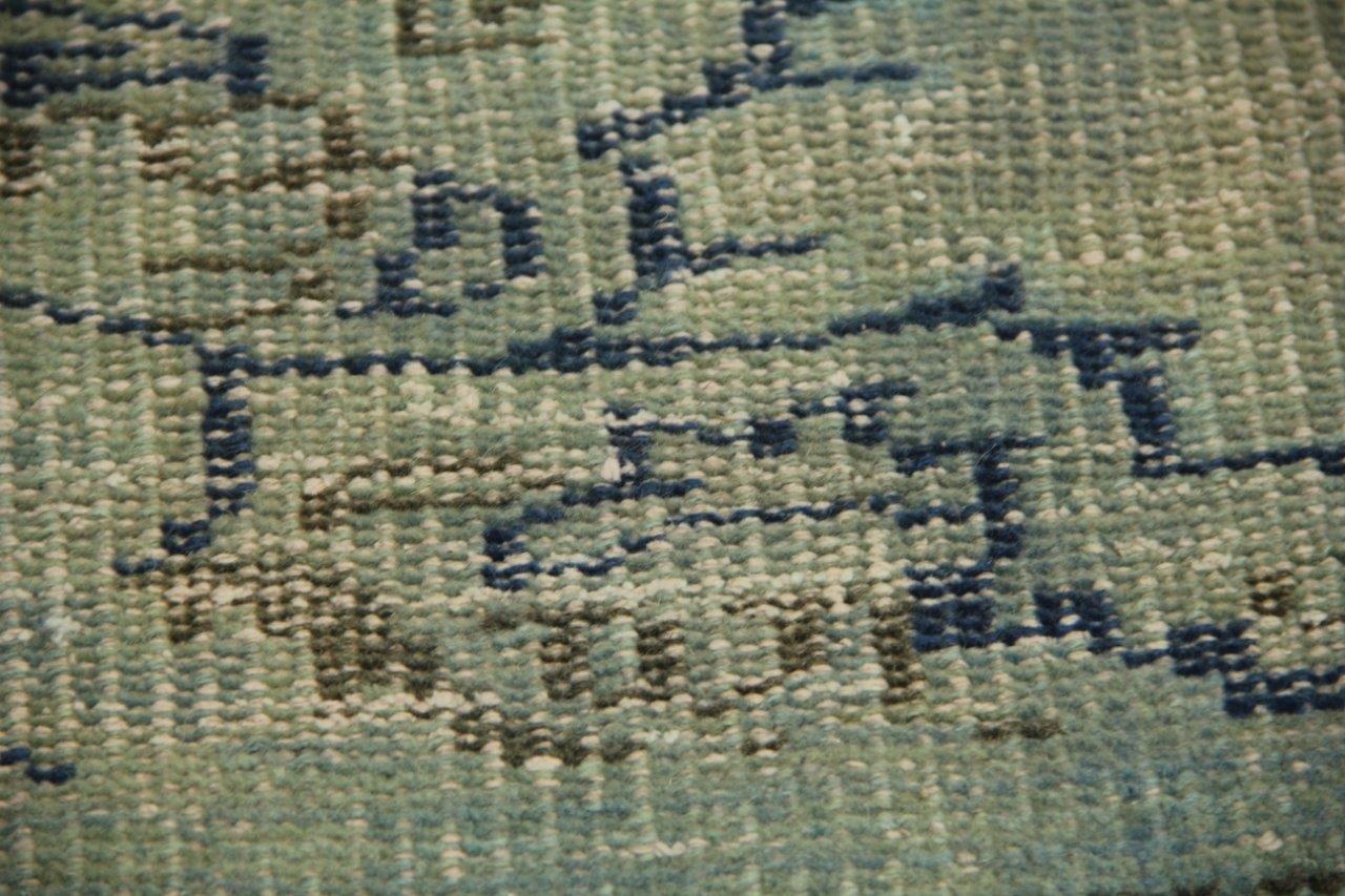 Vloerkleed Blauw Grijs : Vintage vloerkleed blauwgrijs cm cm rozenkelim