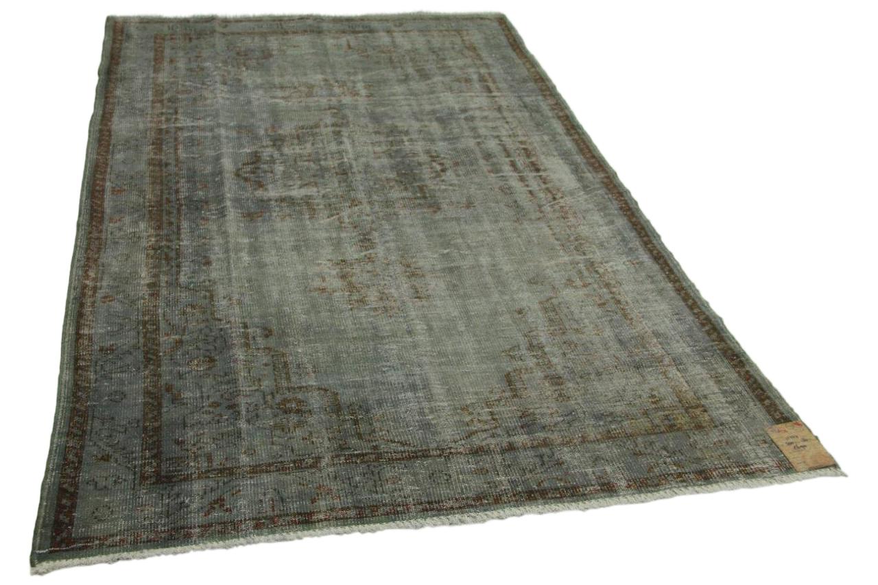 Vintage vloerkleed grijs 300cm x 180cm nr11237