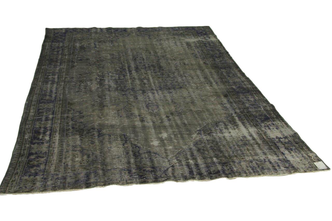 Vintage vloerkleed, grijs, 305cm x 210cm nr11939