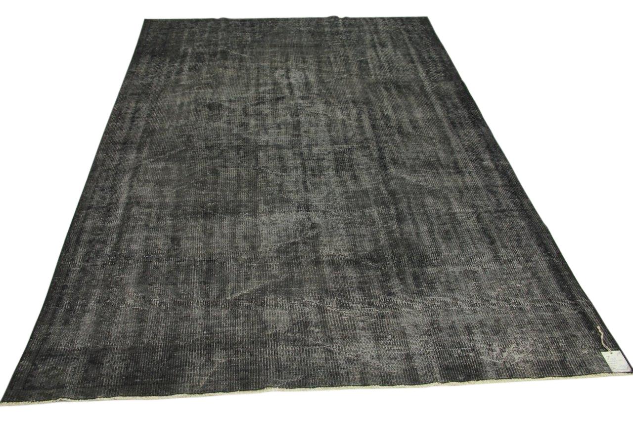 Vintage vloerkleed, grijs, 275cm x 185cm nr11948