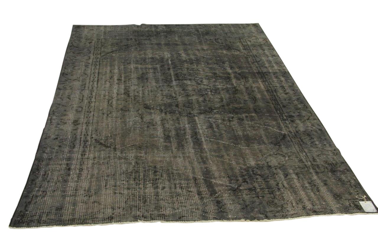 Vintage vloerkleed, grijs, 250cm x 172cm nr18828