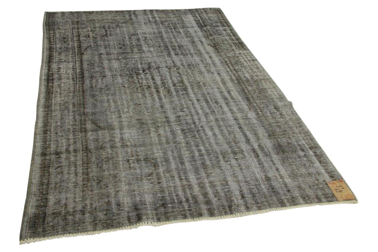 Vintage vloerkleed grijs 273cm x 175cm nr31362