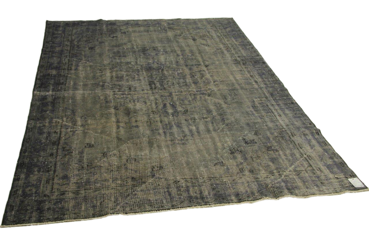 Vintage vloerkleed, grijs, 263cm x 190cm nr88927