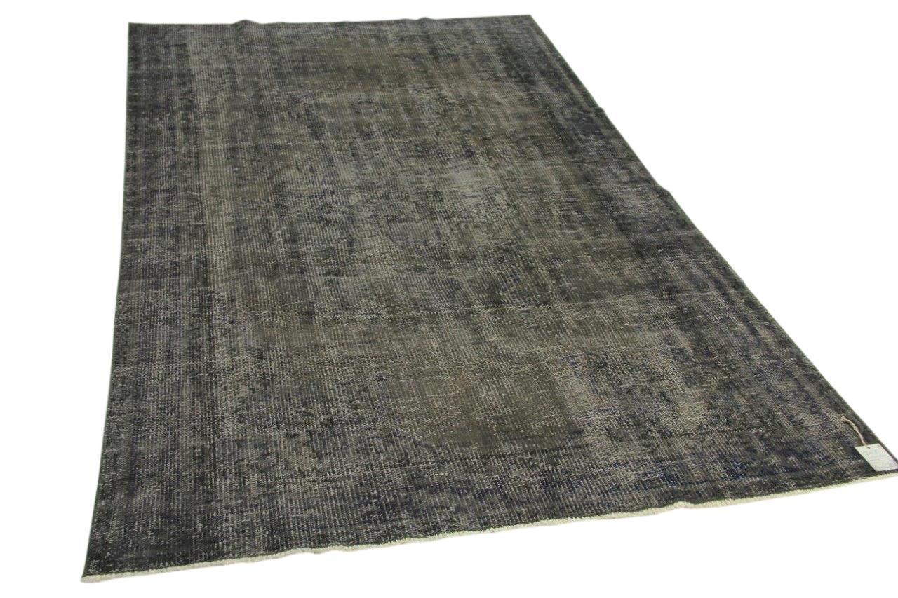 vintage vloerkleed, grijs, 270cm x 160cm nr89331