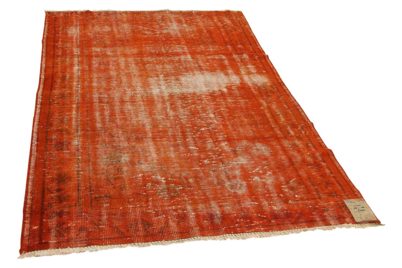 Vintage vloerkleed oranje 258cm x 158cm nr11243