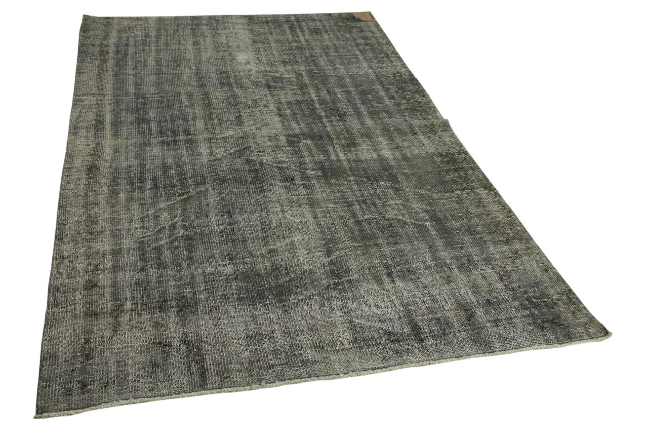 vintage vloerkleed grijs 260cm x 187cm nr2090