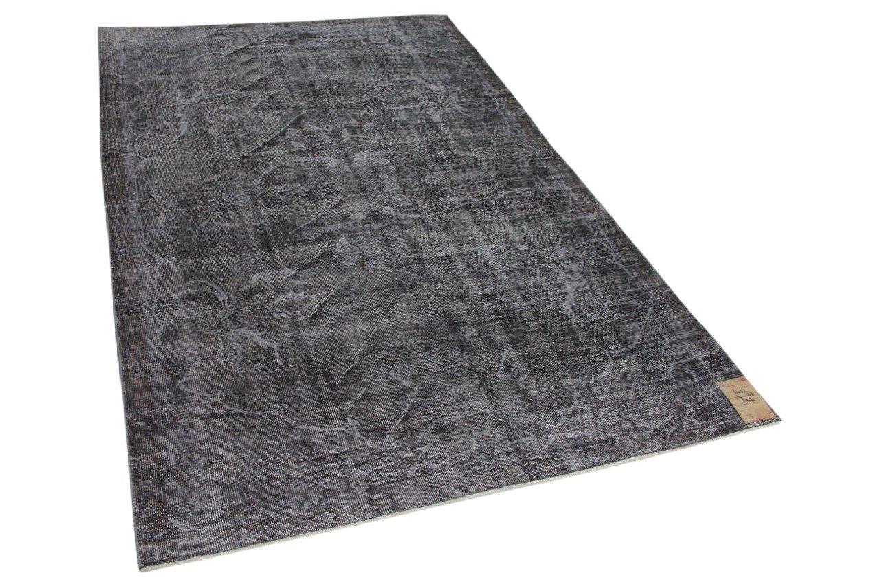 Zwart vloerkleed 260cm x 168cm  6452