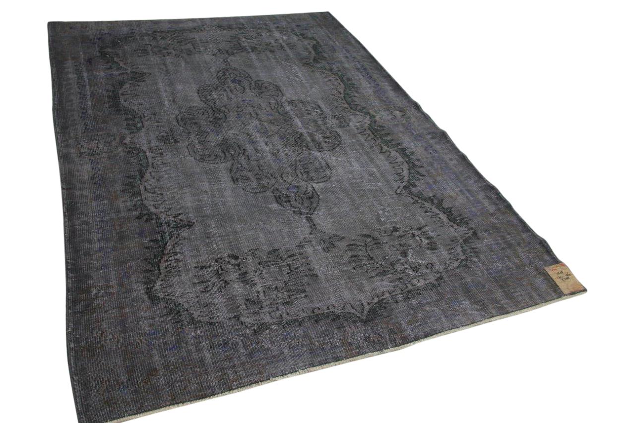 vintage vloerkleed grijs 11529 270cm x 196cm
