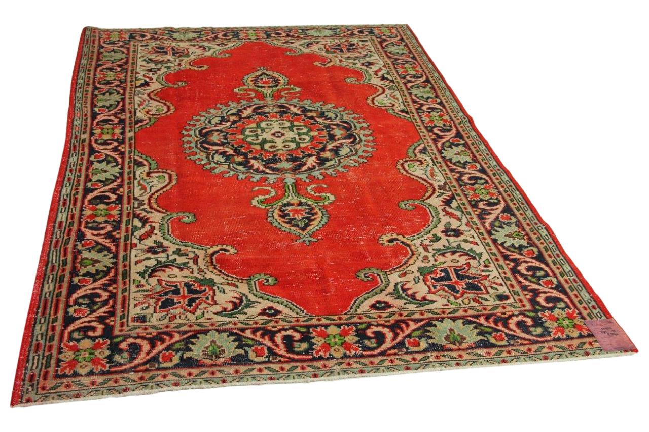 rood vloerkleed 270cm x 175cm nr11935