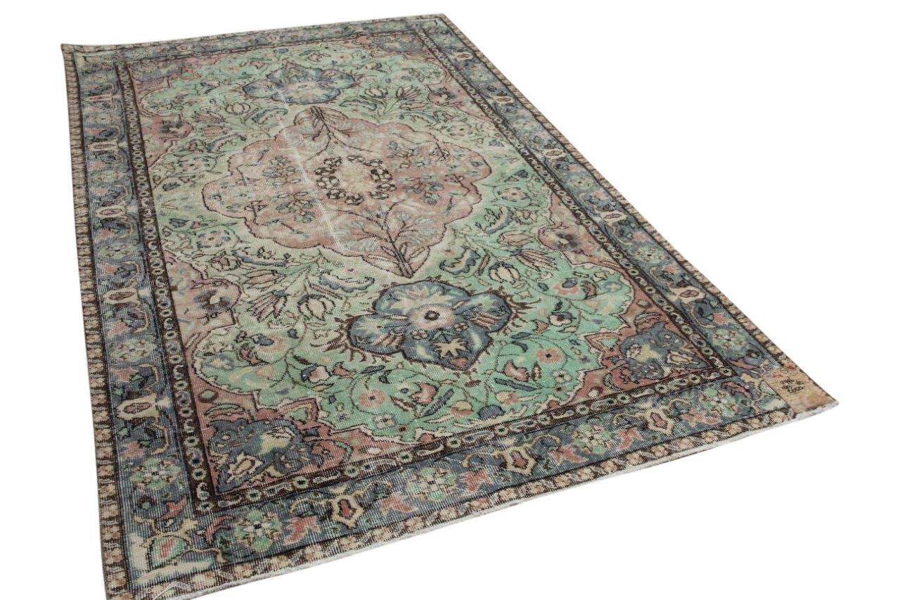 vintage vloerkleed diverse kleuren 12996 280cm x 165cm
