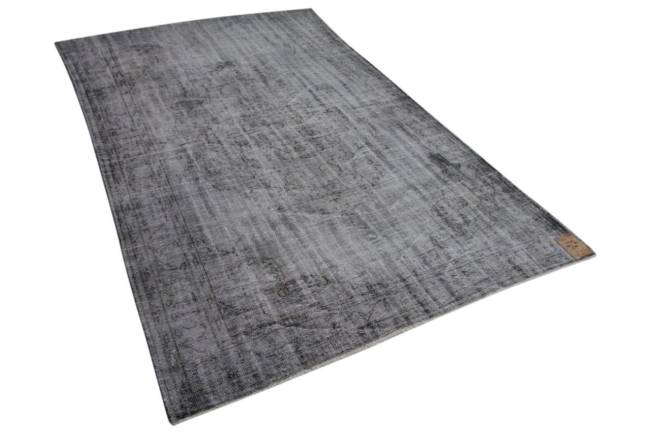 Vintage vloerkleed grijs 294cm x 185cm