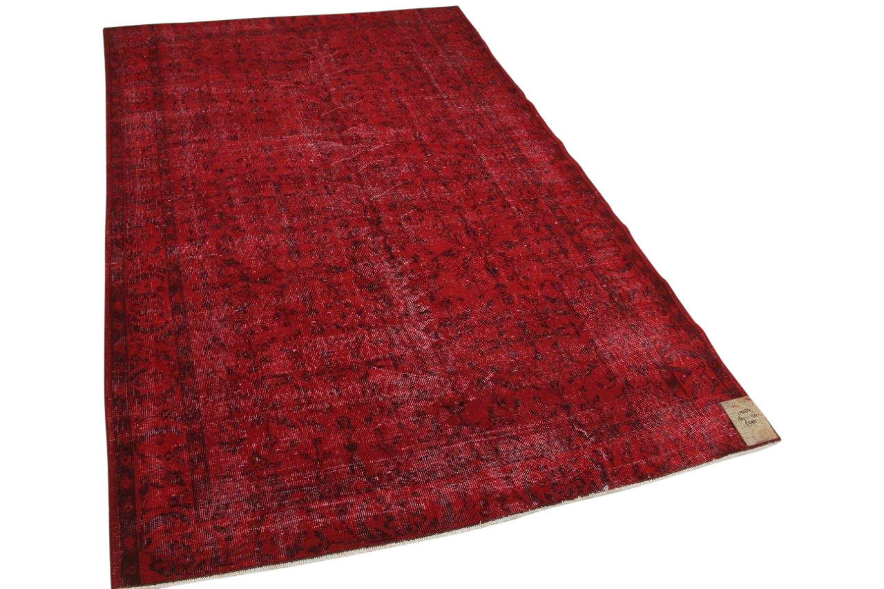 Vintage vloerkleed rood 13454 267cm x 170cm