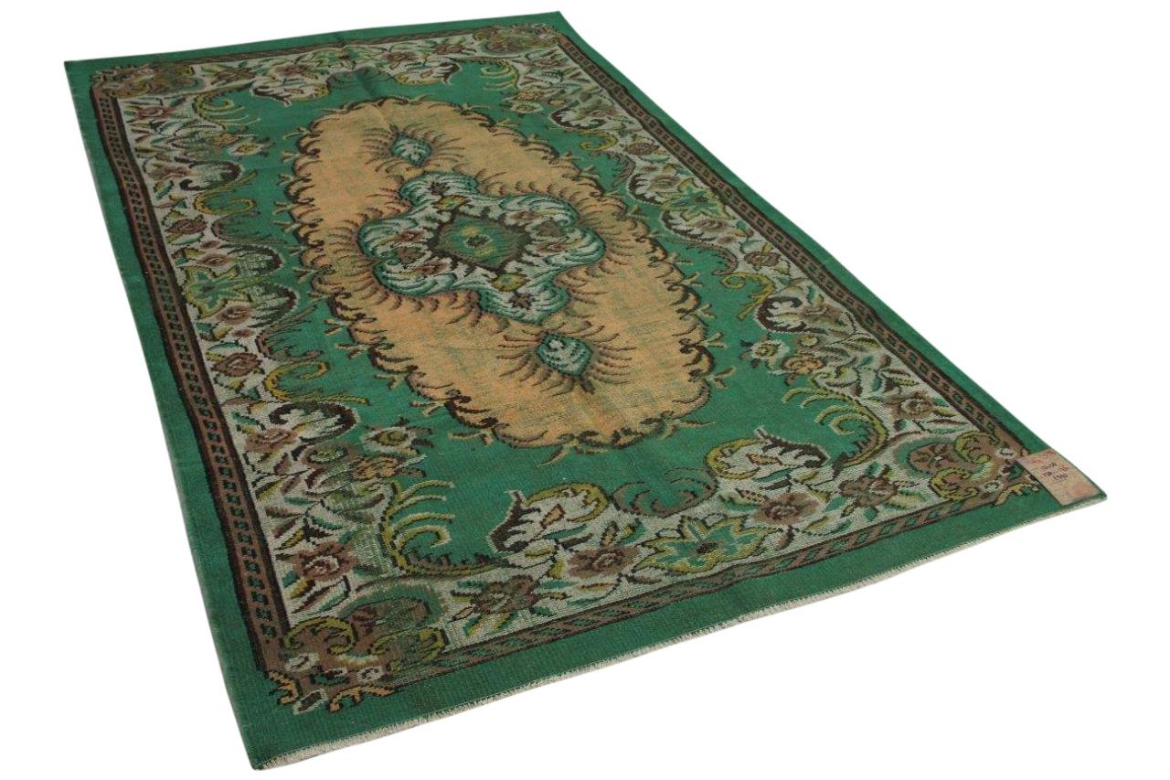 groen vloerkleed 1348 278cm x 176cm
