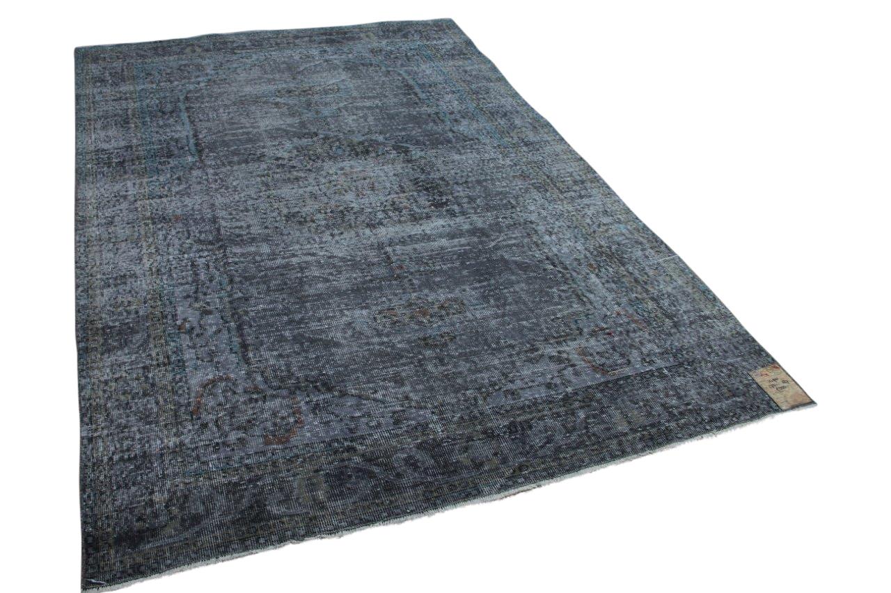 Vintage vloerkleed grijs 273cm x 187cm, nr 14901
